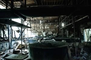 ストリップ劇場廃虚として有名:明野劇場(茨城県筑西市)