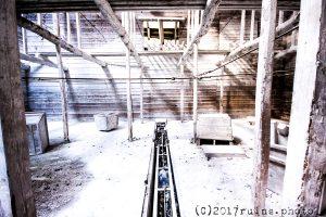 解体された巨大廃虚:白石工業桑名工場(三重県いなべ市)