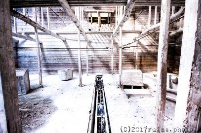 白石工業桑名工場(藤原鉱山・白石鉱山)