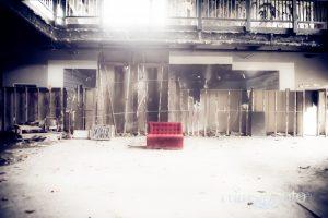 トリックアート美術館の廃虚:富士白糸ワンダーミュージアム(静岡県富士宮市)