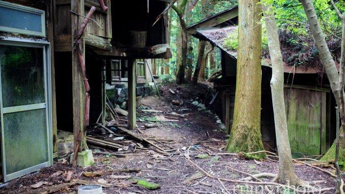 岳集落:集落の道